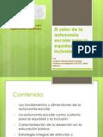 Autonomiaydesercion 4o Taller Nacional de Supervisores de EB