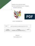 IMPLEMENTACIÓN DE UN CRM PARA PYMES  EN EL SECTOR TEXTIL
