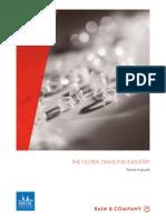BAIN REPORT Global Diamond Industry Portrait of Growth