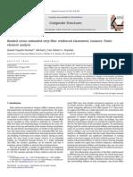 Bonded Versus Unbonded Strip Fiber Reinforced Elastomeric Isolators Finite Element Analysis