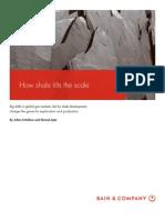BAIN BRIEF How Shale Tilts the Scale