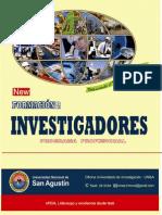Programa Profesional Formación de Investigadores