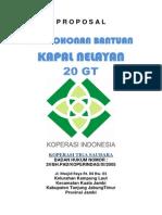 Proposal Kapal Nelayan 30gt