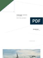 Brochura Lineage jets