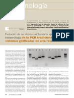 Articulo Evolucion de Las Tecnicas Moleculares Aplicadas en Biotecnologia de La Pcr Trad Www.farmaindustrial.com