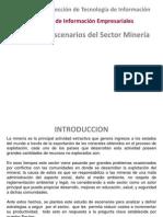 Escenarios Sector Mineria