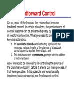 (Feed forward Control)
