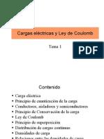 1-Cargas Electricas y Ley de Coulomb