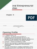Ch4 International Entrepreneurial Opportunities