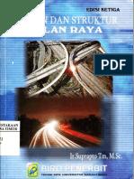 Bahan Dan Struktur Jalan Raya