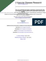 Diabetes and Vascular Disease Research 2013 Rosen 277 86
