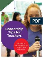 Ban Bossy Leadership Tips for Teachers
