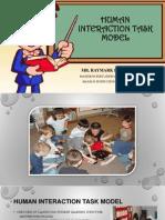 Human Interaction Task Model