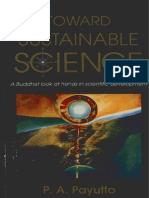 toward sustainable science a buddhist look at trend in scientific development