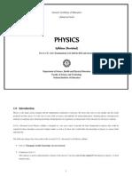 Physics Syllabus - Grade 12 and 13 - Sri Lanka