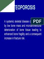 Osteoporosis Dexa Score