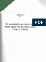 Capítulo 14. El desarrollo económico, para cerrar la brecha ent