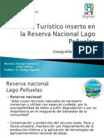 """Sistema Turístico, ejemplificación Reserva Nacional """"Lago Peñuelas"""", Chile"""