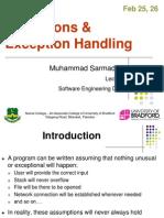 wk  5 exception handling