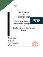 Stamdford Linear Accellerator Specificationforseismicdesignatslac i 720 0a24e 002