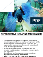 Isolation & Isolating Mechanisms