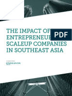 Scaleup Companies in Southeast Asia