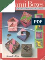 Alexandra Dirk - Origami Boxes