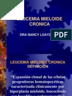 10) Dra. Loayza - Leucemia mieloide crónica