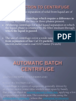 Automatic Batch Centrifuge