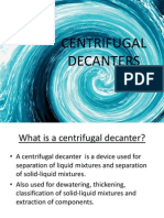Centrifugal Decanters Ppt