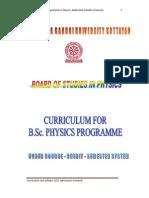 M_G_University CBCSS B_Sc_Physics Syllabus 2011Admission Onwards