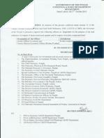 Notification of Inspectors