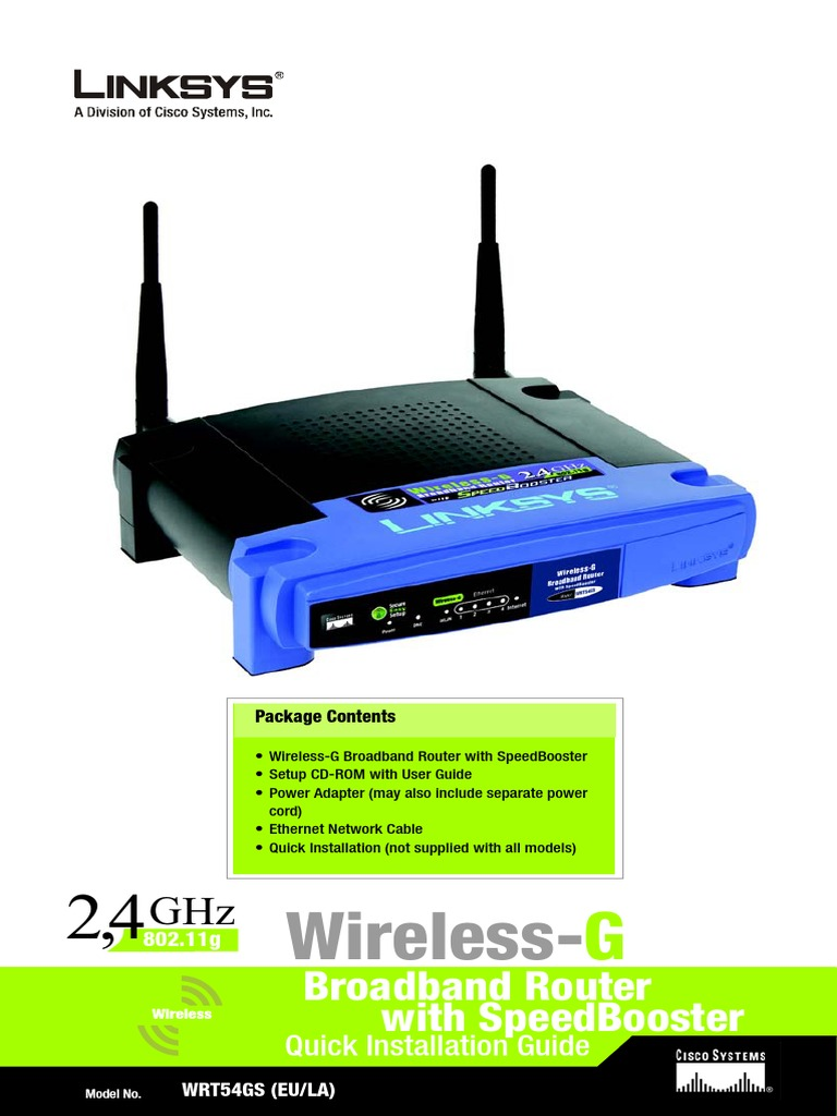 Router Linksys Wireless Networking Network Protocols
