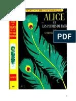 Caroline Quine Alice Roy 34 IB Alice Et Les Plumes de Paon 1956