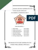 ASKEP glomerulonefritis akut