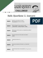 BQ Challenge Q+a Math