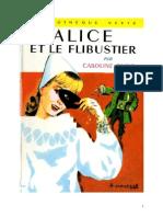 Caroline Quine Alice Roy 35 BV Alice Et Le Flibustier 1957