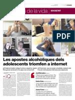 Neknomination i consum d'alcohol