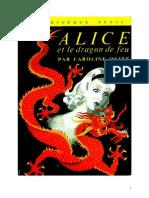 Caroline Quine Alice Roy 38 BV Alice Et Le Dragon de Feu 1961