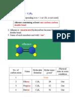 3 Alkenes (2)