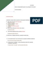 Exercicios de Revisao Lingua Portuguesa