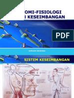 Anatomi-fisiologi Sistem Keseimbangan
