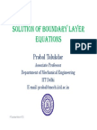 (14 15) Boundary Layer Theory