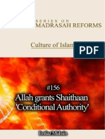 156 Allah Grants Shaithaan Conditional Authority