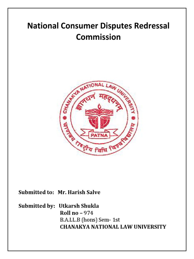 national consumer redressal commission