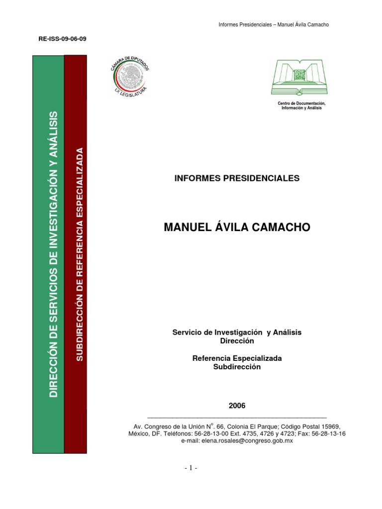 ÀVILA CAMACHO SOLIS