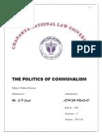 Politics of Communi;Ism