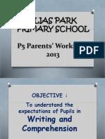 P5 English Workshop (2013)