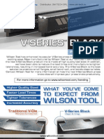 Wilson Tool v Series Black Press Brake Dies - Prismele de abkant V Series Black