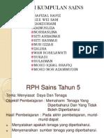 RPH Sains Tahun 5-Tenaga & Haba